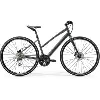 Велосипед Merida Crossway Urban 20-D Lady DarkSilver/Lime 2020 XS(42cm)(42578)