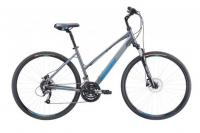 Велосипед Merida Crossway 40-D Lady DarkSilver (Blue) 2019 M(51cm)
