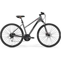 Велосипед Merida Crossway 100 Lady DarkSilver/Red/Black 2019 XS(43cm)